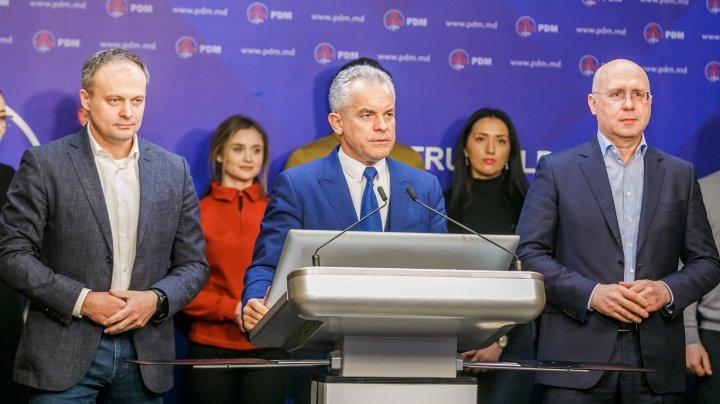 Vlad Plahotniuc: PDM este gata să înceapă imediat negocierile cu celelalte partide. Noi nu avem orgolii, resentimente sau prejudecăţi