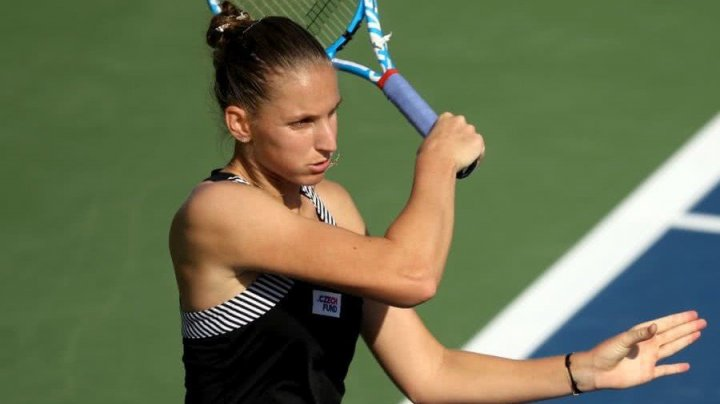Karolina Pliskova a fost eliminată de la WTA Dubai