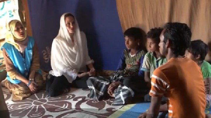 Angelina Jolie şi-a reluat rolul de emisar special al ONU pentru refugiaţi