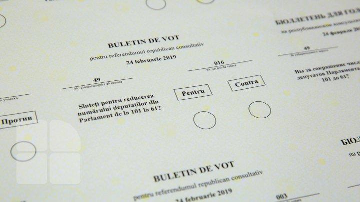Lucru în toi la Tipografia Centrală. Buletinele de vot pentru referendum au început să fie tipărite (FOTOREPORT)