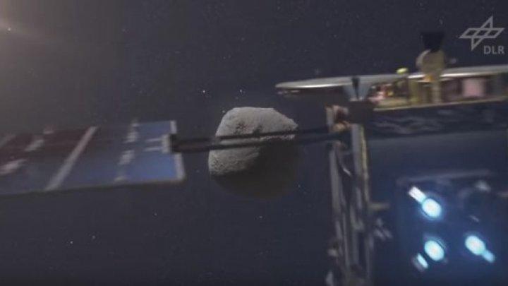O navă spaţială va ÎMPUŞCA un asteroid, peste 2 zile (VIDEO)
