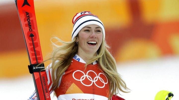 Mikaela Shiffrin a devenit campioană mondială în proba slalom super-uriaş, disputată în staţiunea suedeză Are