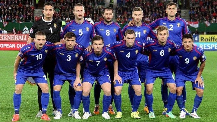 Naționala de fotbal a Moldovei a început pregătirile pentru meciul cu Franța