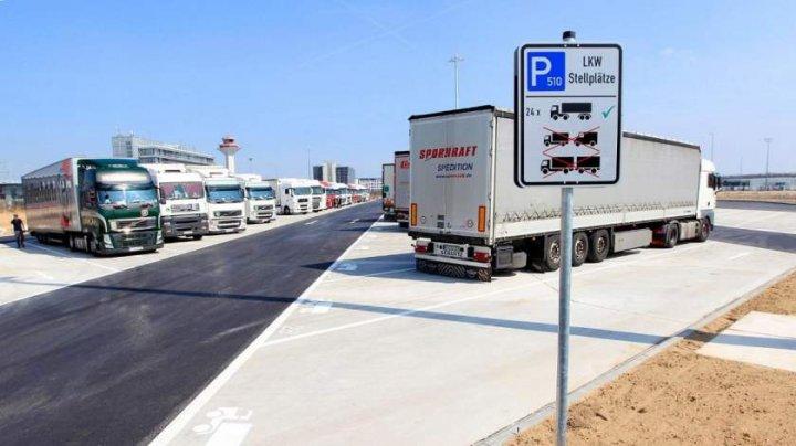 Sute de camioane româneşti au fost folosite în Belgia pentru o FRAUDĂ de 65 DE MILIOANE DE EURO