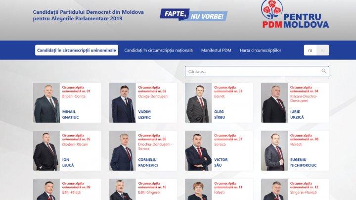 Cetăţenii trebuie să-şi cunoască candidaţii şi angajamentele lor. PDM a lansat pagina candidat.md pentru alegerile parlamentare