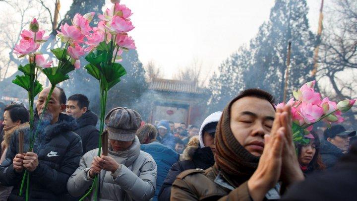 Chinezii au urat bun venit Anului Porcului. Modul inedit prin care aceştia au marcat nou an