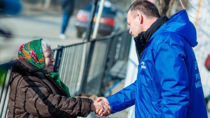 Andrian Candu la Călărași: vom asigura în continuare creșterea pensiilor