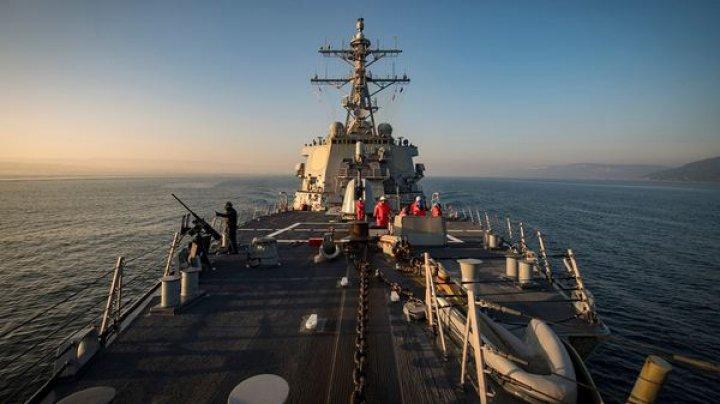 Distrugătorul american USS Donald Cook începe o nouă misiune în Marea Neagră