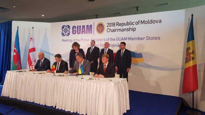 Moldova va realiza schimburi de informații cu celelalte statele membre GUAM privind mărfurile transportate pe cale aeriană
