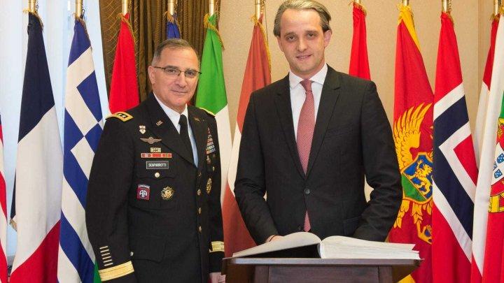 Avansarea dialogului strategic Republica Moldova - NATO,  discutată în Belgia