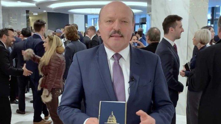 Vicepreședintele Parlamentului, Valeriu Ghilețchi, a participat la Dejunul Național cu Rugăciune la Washington