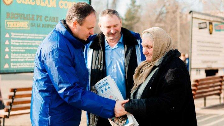 Andrian Candu la Leova: PDM a venit în aceasta campanie cu candidați foarte buni, cu viziuni clare privind ceea ce au de făcut pentru fiecare raion (FOTO)