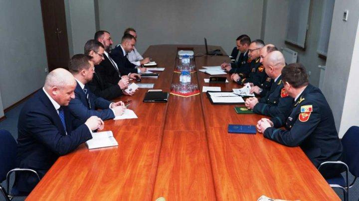 Viceministrul apărării al Ucrainei, în vizită la ministerul Apărării