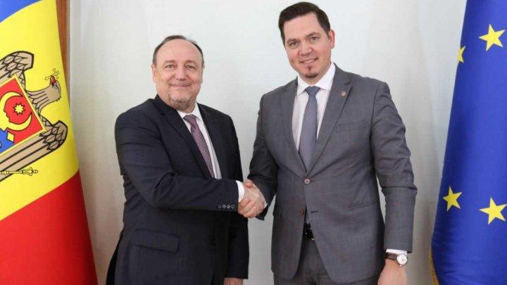 Cooperarea moldo-croată a fost discutată de Ministrul Tudor Ulianovschi cu ambasadorul Davor Vidiš