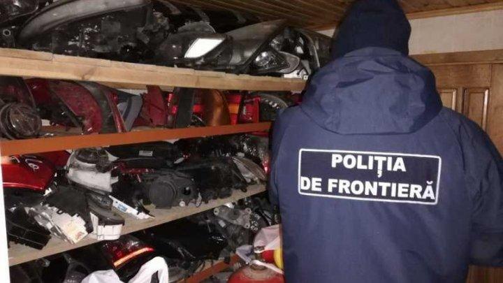Piese auto de peste UN MILION DE LEI, confiscate la frontieră (VIDEO)