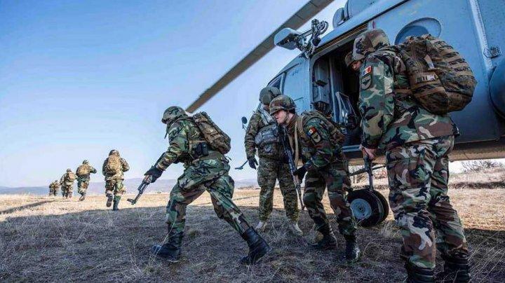 Militarii Armatei Naţionale din operaţiunea KFOR au participat la exerciţiul în teren în Kosovo