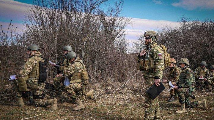 Militari ai Armatei Naţionale din KFOR au participat la un exerciţiu de evaluare