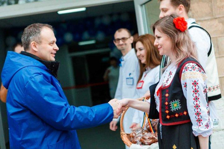 Andrian Candu la Criuleni: Vom continua să investim în  programe de sănătate
