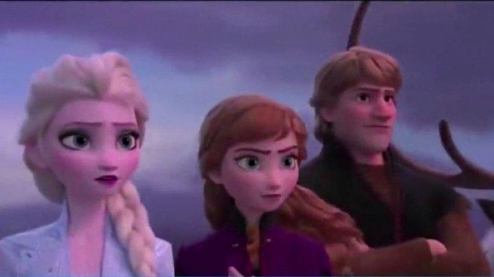 Frozen 2 bate primul record: Trailerul filmului animat a înregistrat vizionări record