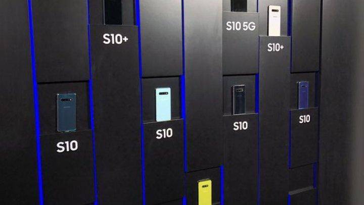 Samsung a prezentat oficial Galaxy S10, S10+, S10e şi S10 5G