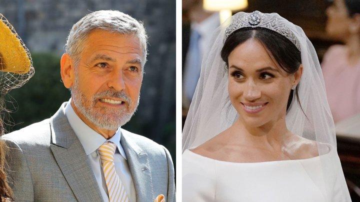 George Clooney o compară pe Meghan Markle cu Prinţesa Diana