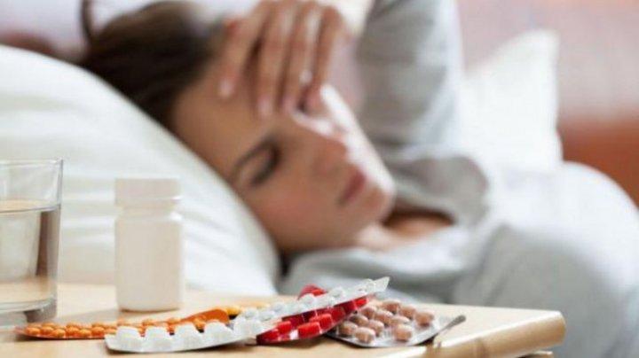 Numărul persoanelor care au murit din cauza gripei în România a ajuns la 166