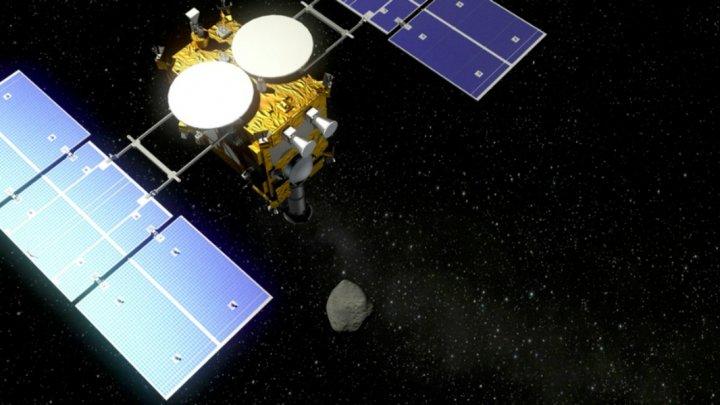 Sonda spaţială japoneză Hayabusa2, fără echipaj uman, a asolizat pe asteroidul Ryugu