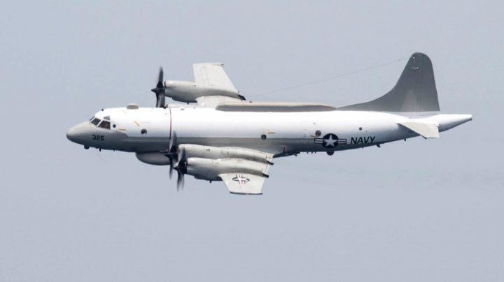 Incident deasupra Mării Negre: Un avion de vânătoare rus a efectuat o manevră periculoasă în timpul interceptării unei aeronave americane