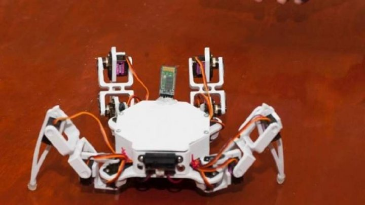 Un robot-păianjen VA SALVA oamenii