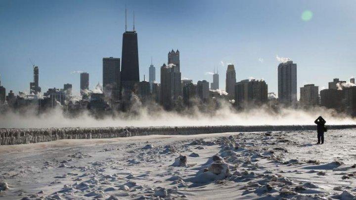 """ŞOC şi GROAZĂ în SUA. Mai multe """"cutremure de gheaţă"""" au avut loc în oraşul Chicago"""