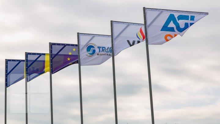 România conectează Moldova la Europa. A început construcţia conductei de gaze Ungheni-Chișinău (FOTOREPORT)