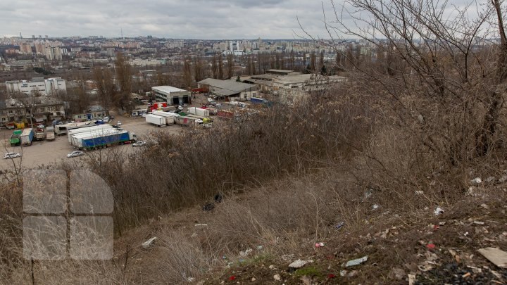 Esplanada de unde se poate vedea tot Chișinăul va fi în final amenajată la Ciocana (FOTOREPORT)