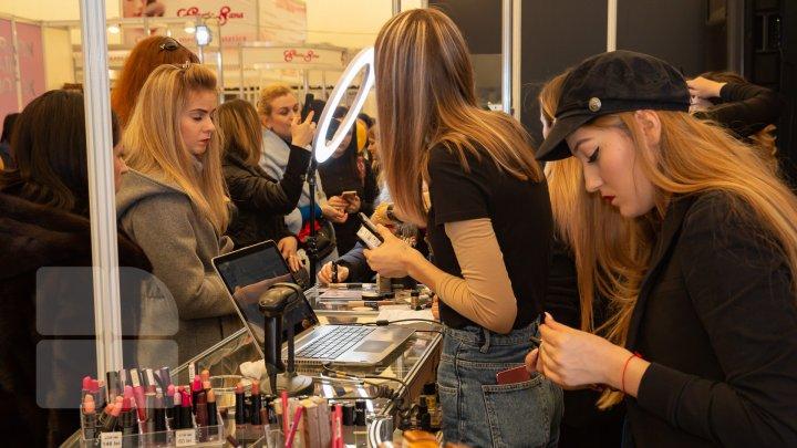 La Chişinău a fost dat startul celei de-a 22-a ediţie a Expoziţiei internaționale specializate Beauty 2019 (FOTOREPORT)