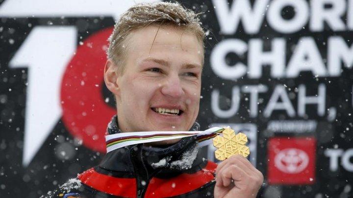 Dmitri Loghinov a cucerit a doua medalie de aur consecutivă la Campionatele Mondiale de snowboard