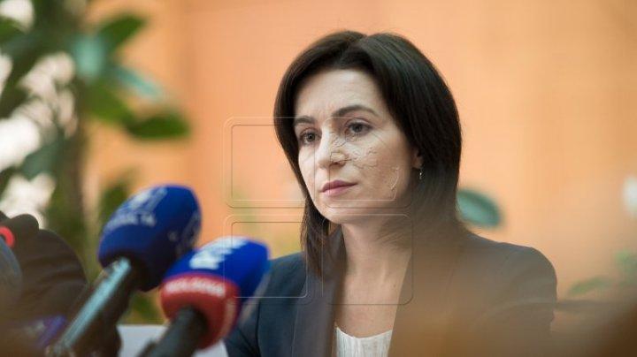 (VIDEO) Maia Sandu îl ACUZĂ pe Igor Dodon de TRĂDARE DE ŢARĂ