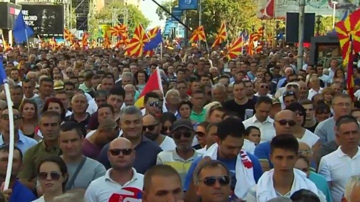 Istoria se rescrie pentru Macedonia. Îşi va schimba numele odată cu aderarea la NATO