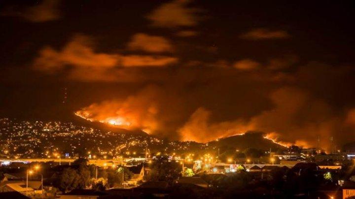 Cel mai GRAV INCENDIU în Noua Zeelandă: Mii de persoane au fost evacuate de urgenţă