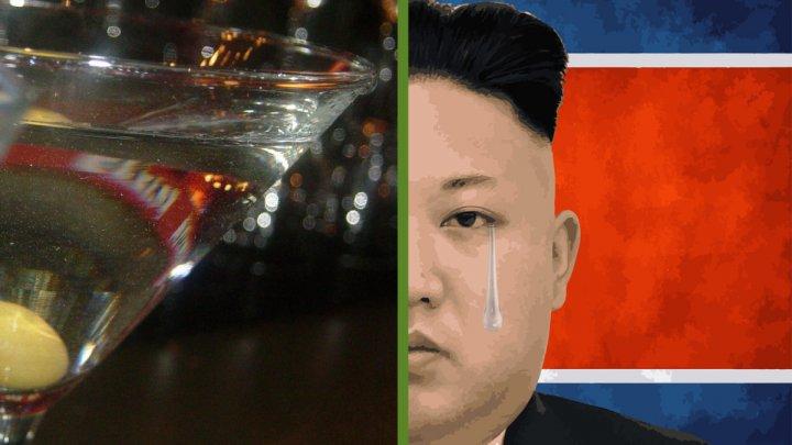 CONFISCATE. 90.000 de sticle de vodkă care ar fi fost destinate lui Kim Jong-UN, rămân în portul olandez