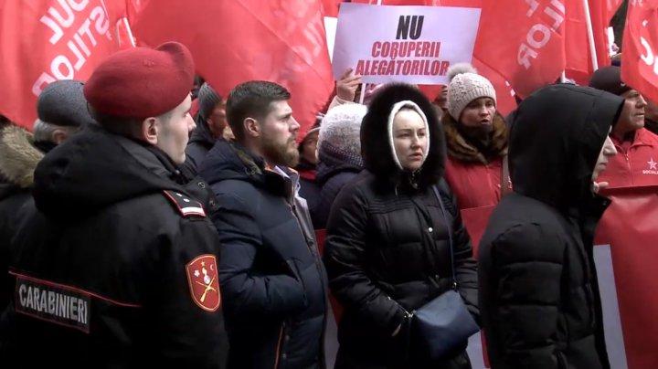 Ilan Şor: Protestul socialiştilor, o presiune directă a preşedintelui Igor Dodon asupra organului electoral central