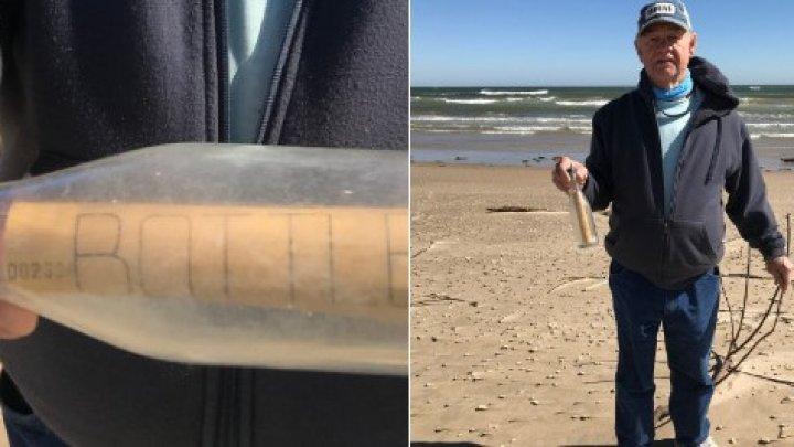 Nu s-au aşteptat la aşa ceva! Un cuplu a descoperit un mesaj vechi de 65 de ani într-o sticlă pe o plajă