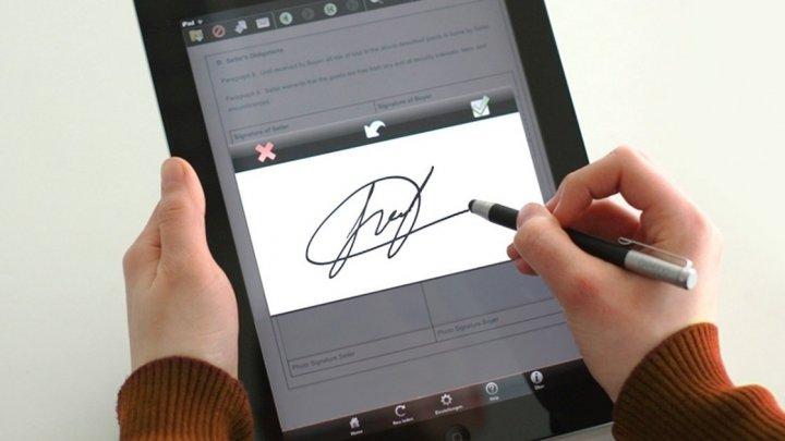 Semnătura electronică capătă tot mai multă popularitate în rândul moldovenilor