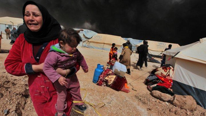 Situație dramatică în Siria: 12 copii, printre care 5 nou-născuți, au murit într-o tabără de refugiaţi