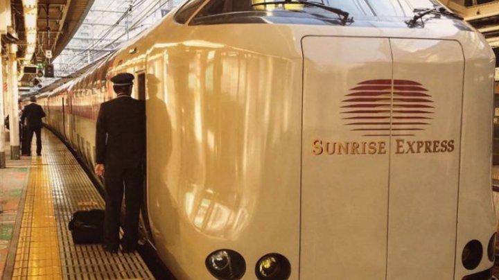 (FOTO) Cum arată trenurile din Japonia și de ce turiștii rămân uimiți
