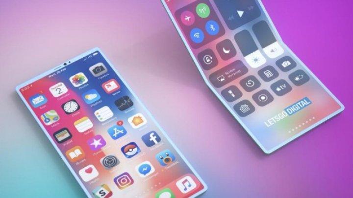 Apple brevetează un iPhone pliabil care poate fi îndoit în ambele sensuri