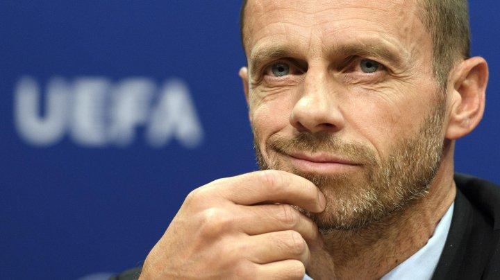 Aleksander Ceferin, reales în funcția de președinte al Uniunii Europene de Fotbal Asociații
