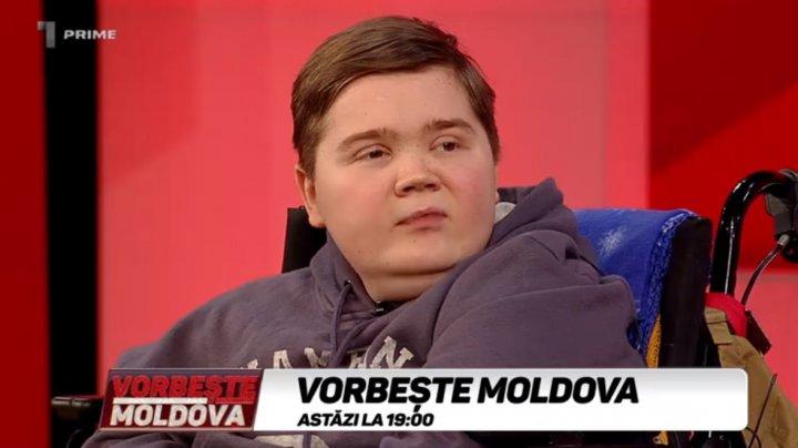 """Toţi îmi vor """"BINELE"""". Povestea tristă a fiului răposatei artiste Valeria Bobocel. Ce i s-a întâmplat tânărului în scaun cu rotile după moartea mamei sale (VIDEO)"""