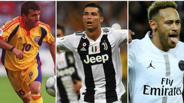 La mulţi ani, Gheorghe Hagi, Ronaldo şi Neymar. Toţi trei mari fobalişti îşi sărbătoreasc astăzi ziua de naştere