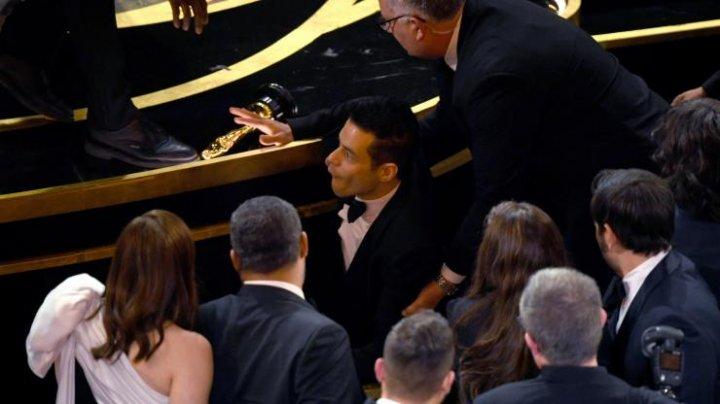 Rami Malek a primit îngrijiri medicale imediat după ce a primit premiul Oscar. Ce a pățit actorul