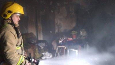 Momente groaznice la Corneşti. Un bărbat a ars de viu în propria casă