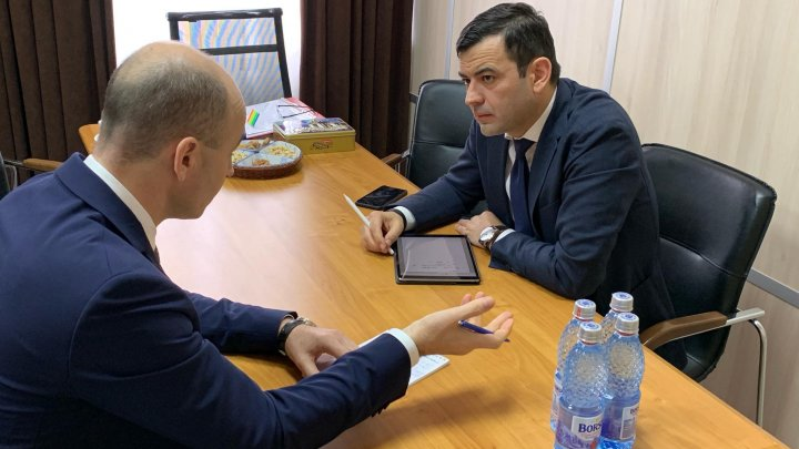 Chiril Gaburici în vizită la Autoritatea Aeronautică Civilă: Au discutat planul de acțiuni pentru anul 2019